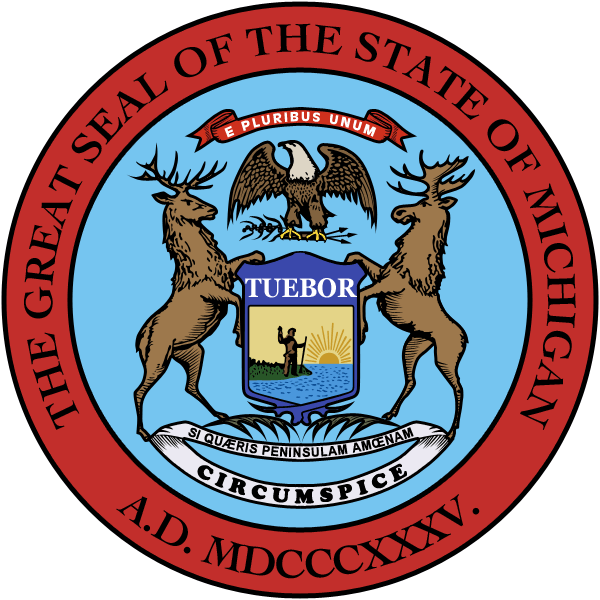 The State Of Michigan E Pluribus Peninsulam Our Lost Founding