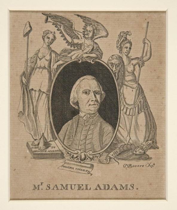 Samuel Adams by Paul Revere 1774