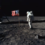 """Buzz"" Aldrin U.S. Flag on Moon"