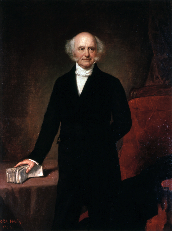 34. Martin Van Buren