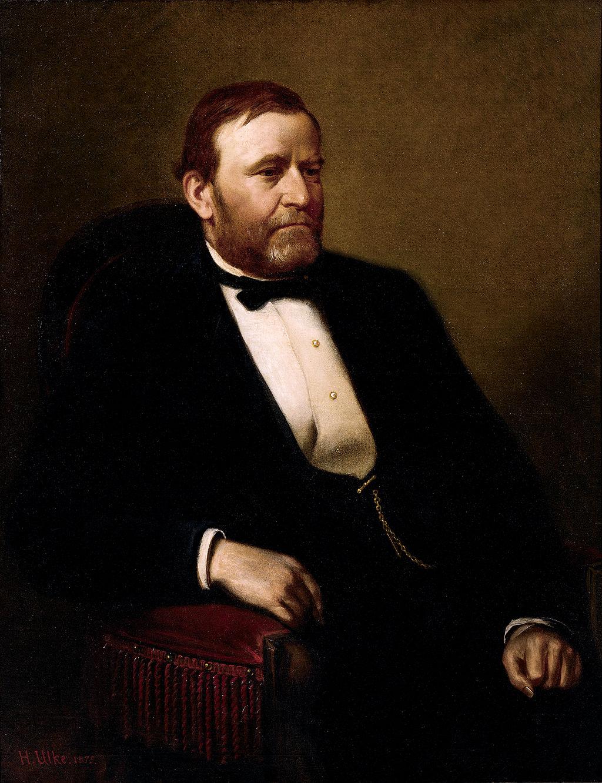 Ulysses S. Grant White House portrait