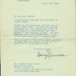 Harry Truman August 11, 1945