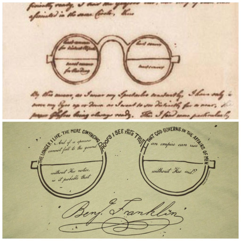 benjamin-franklin-bifocals