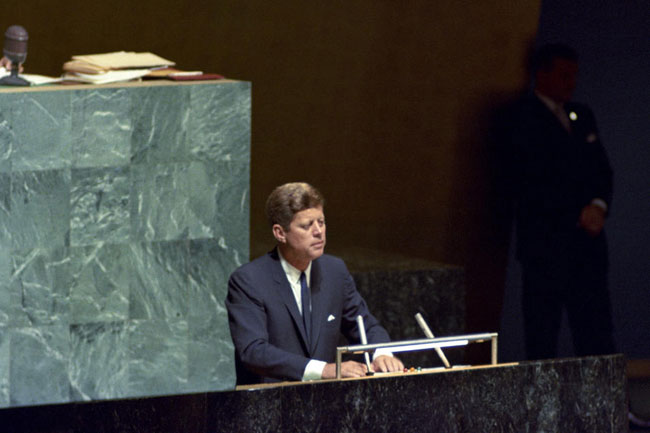 John F. Kennedy United Nations