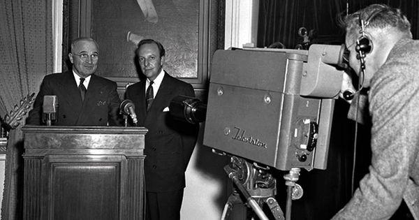 Harry Truman televised