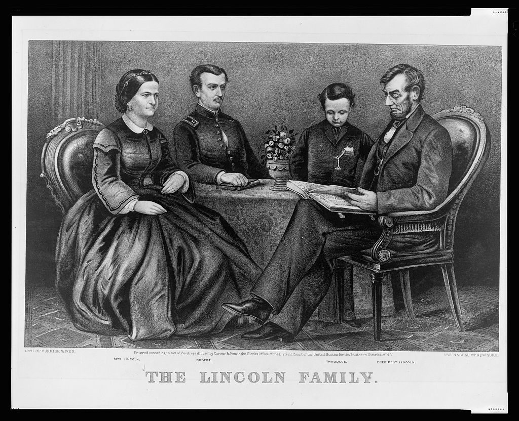 Abraham Lincoln marries Mary Todd