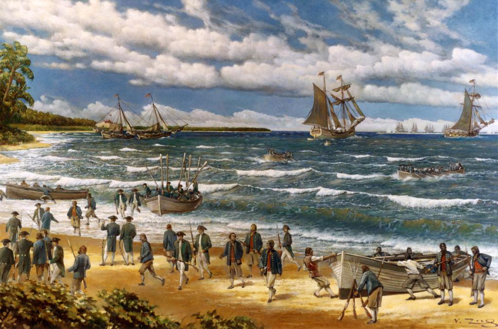 Marines Battle of Nassau