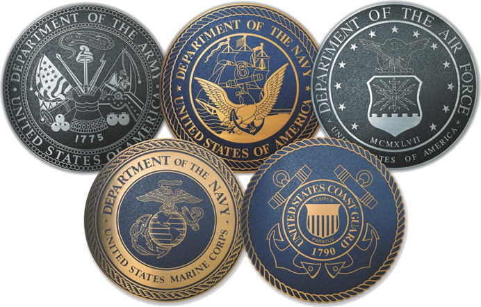 Veterans Day seals