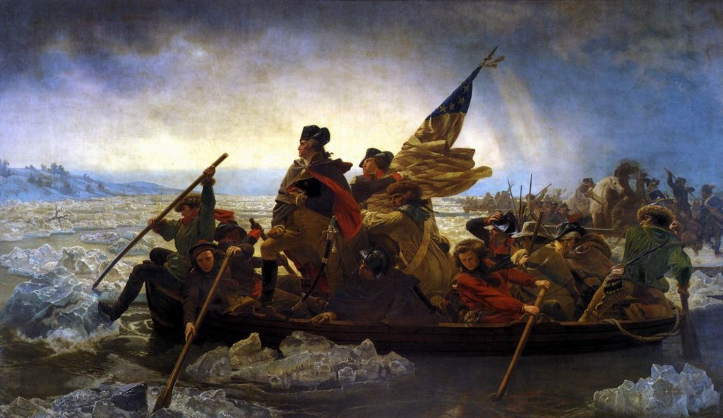 Emanuel Leutze George Washington Crossing the Delaware