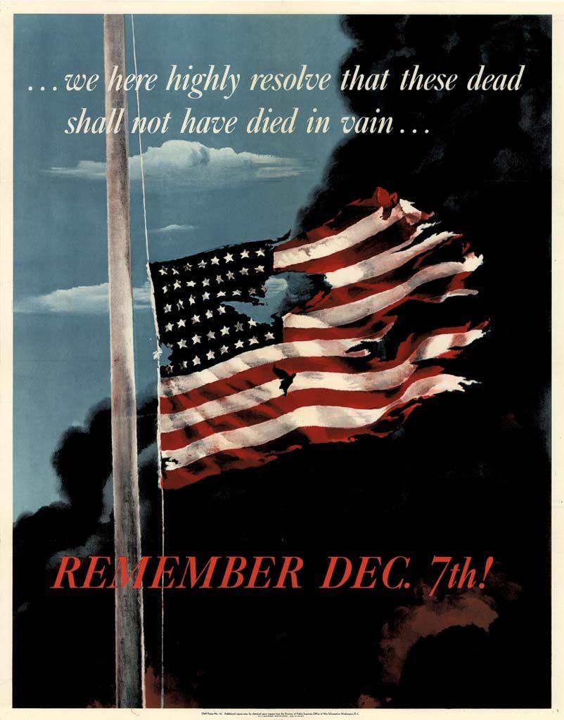 Remember December 7th Pearl Harbor