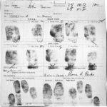 Rosa Parks fingerprints