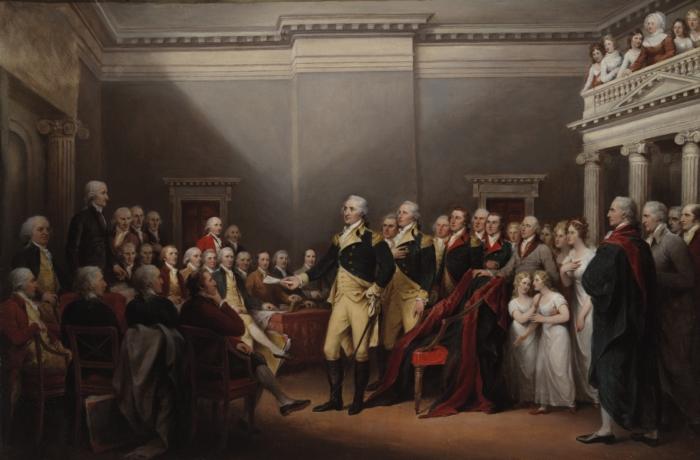 The Resignation of General George Washington December 23 1783