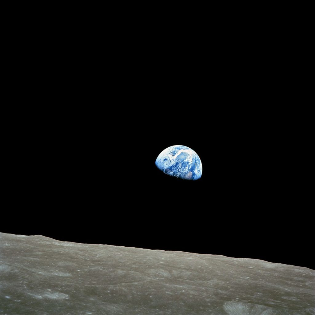NASA Apollo 8 Christmas Eve Earthrise