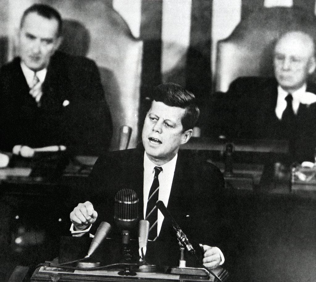 John F. Kennedy Moon shot JFK