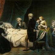 George Washington dying