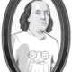 Benjamin Franklin Our Lost Founding t-shirt