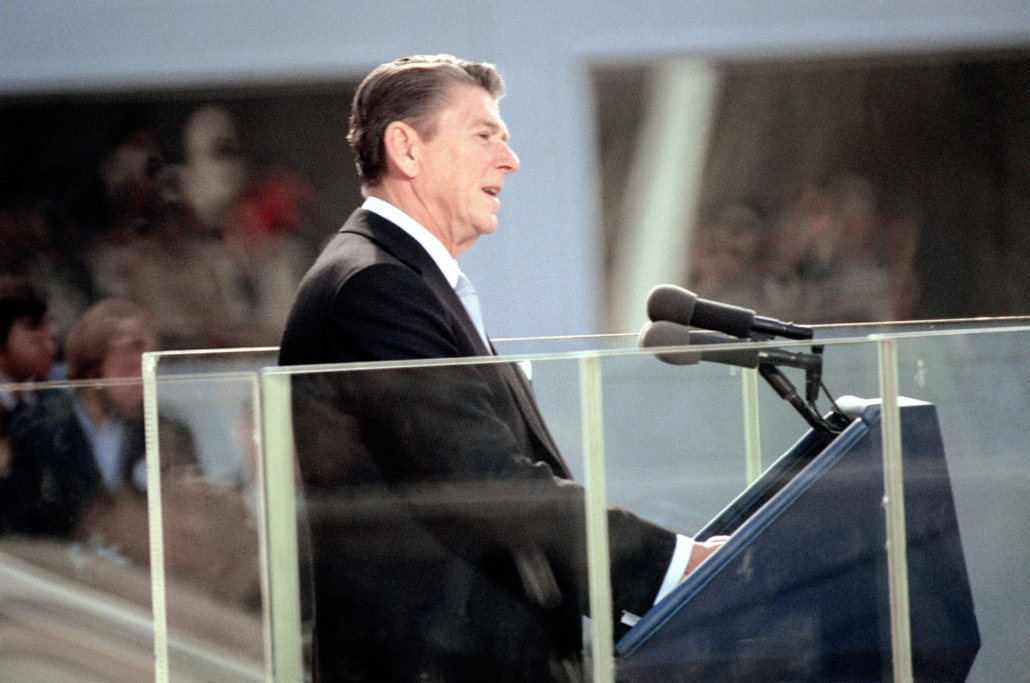 President Ronald Reagan first inaugural address