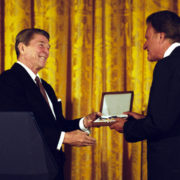 Ronald Reagan Billy Graham Presidential Medal of Freedom
