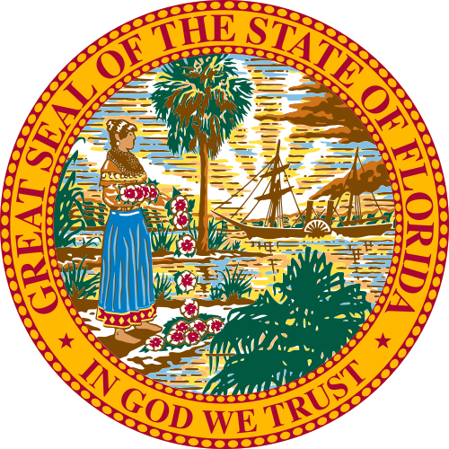 Seal of Florida In God We Trust