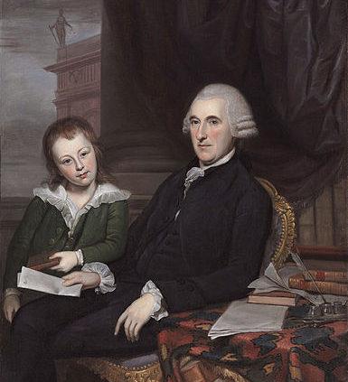 Thomas McKean and son