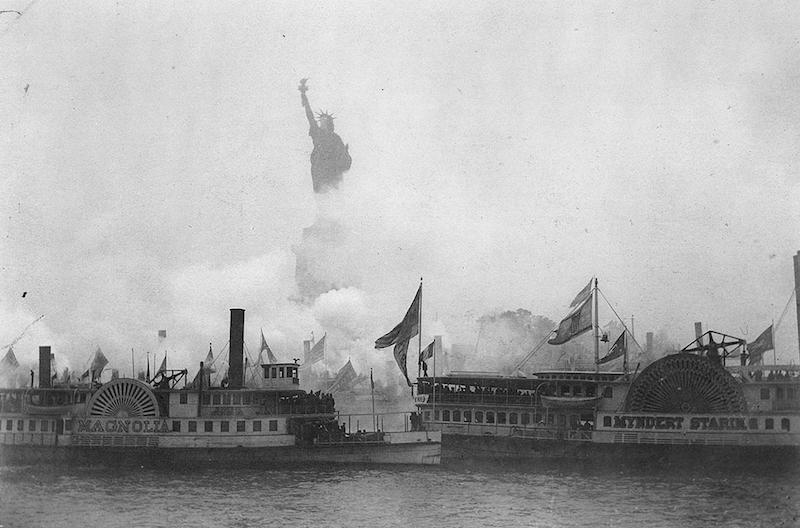 Statue of Liberty Parade