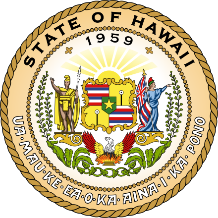Seal of the State of Hawaii
