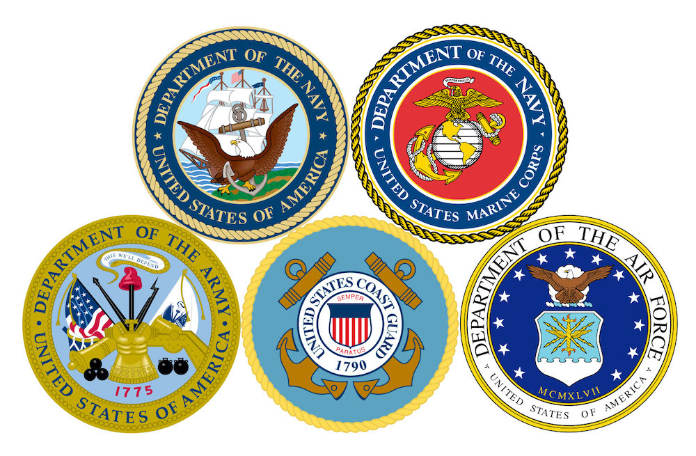 Veterans Day - US Military Seals