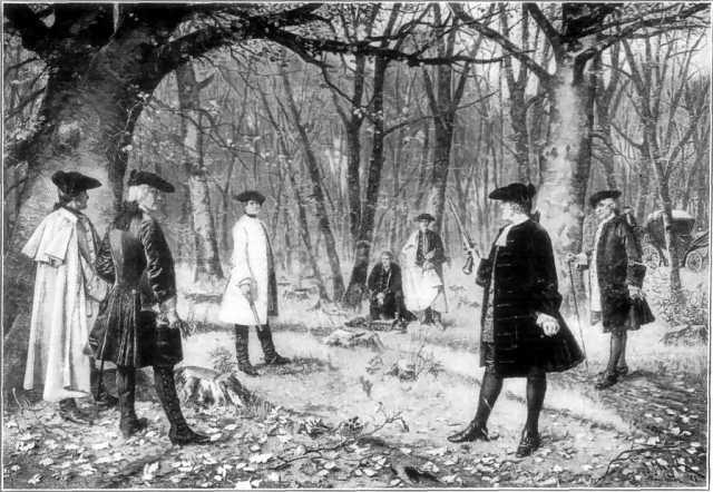 Alexander Hamilton Aaron Burr duel