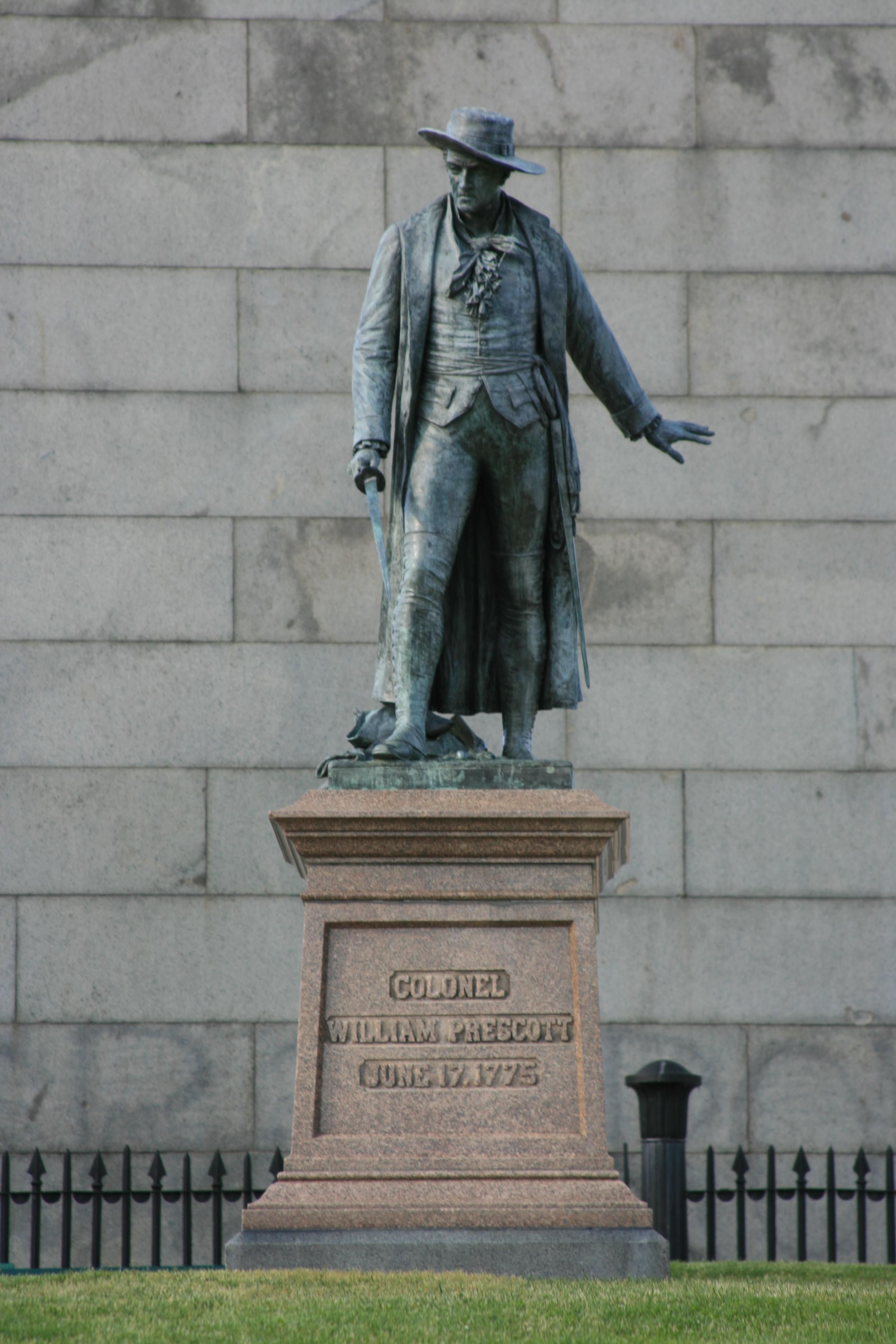 Colonel William Prescott Bunker Hill