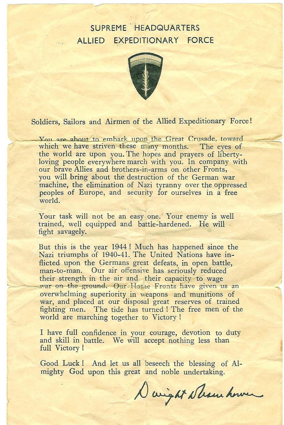 Dwight Eisenhower D-Day