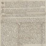 Hancock Thanksgiving Proclamation