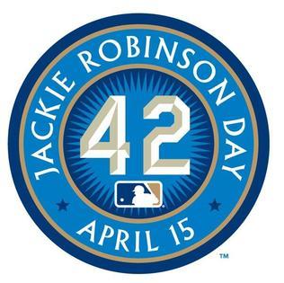 Jackie Robinson Day Logo 42