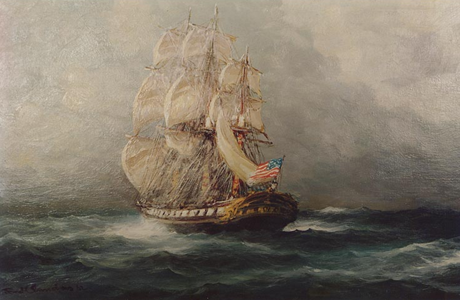 John Adams USS Boston