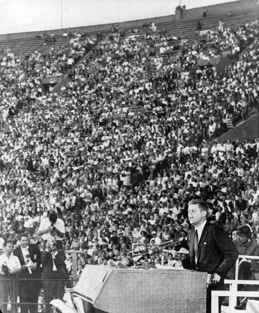 John F. Kennedy Acceptance Speech Democratic National Convention 1960