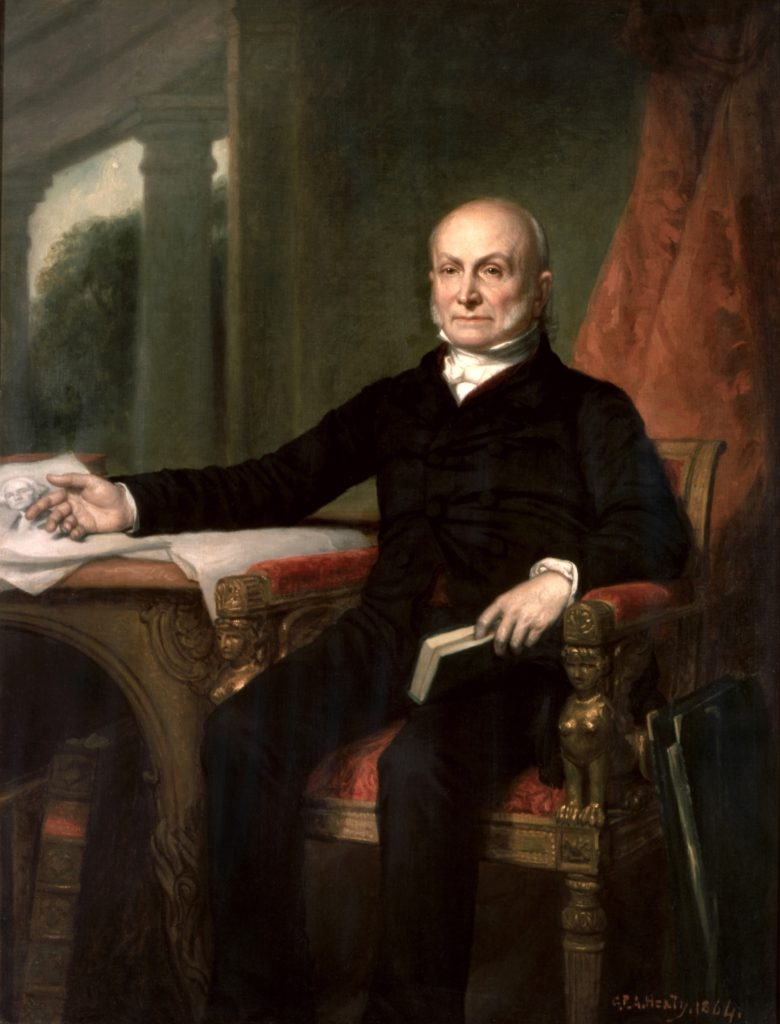 John Quincy Adams White House portrait