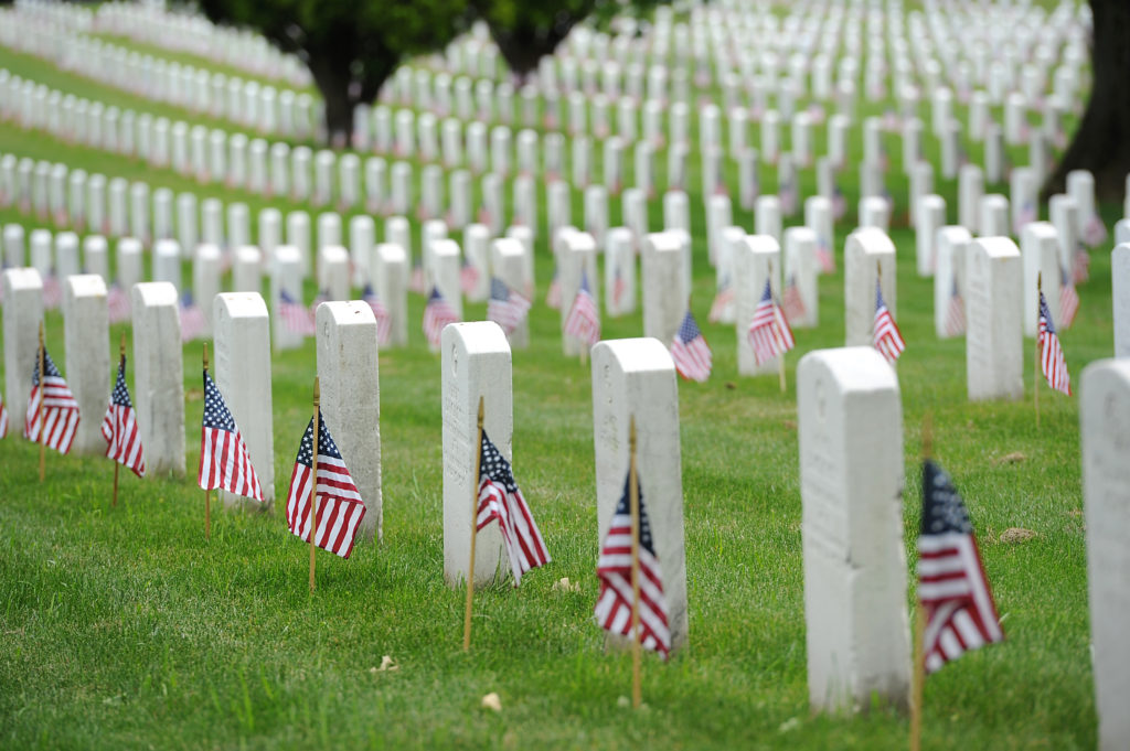 Memorial Day at Arlington National Cemetery