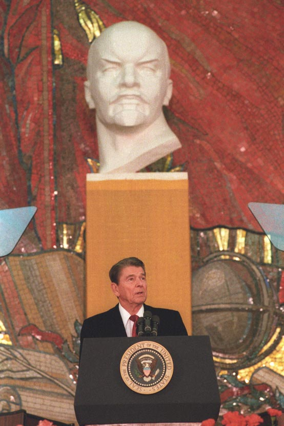 Ronald Reagan at Moscow State University