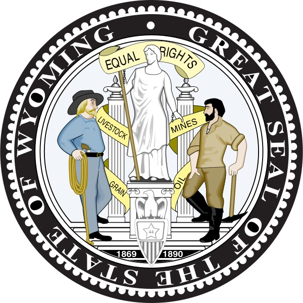 Wyoming Seal Equality State