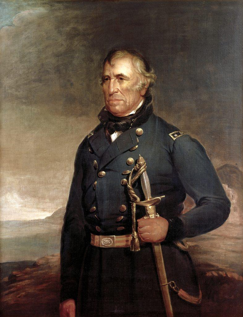 Zachary Taylor White House portrait